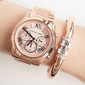 Michael Kors Rose Gold Watch !!ONLY WATCH!!